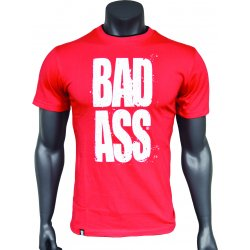 BAD ASS T-shirt Double Neck - model 01 RED - L