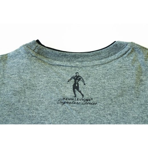 Kevin Levrone Signature Series Double Neck T-Shirt - Model 02 - Grey