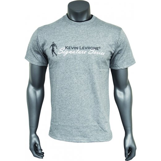 Kevin Levrone Signature Series Double Neck T-Shirt - Model 03 - Grey