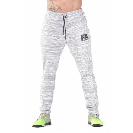 FA Sportswear Sweatpants 01 Melange Light Grey Basic
