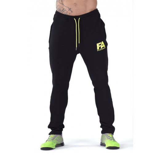 FA Sportswear Sweatpants 01 Black Basic