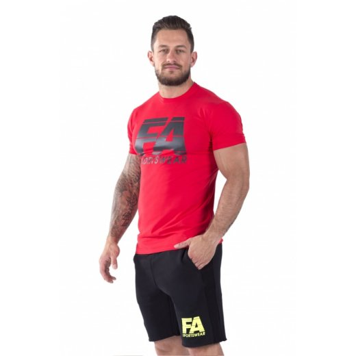 FA Sportswear T-shirt 01 Red Basic