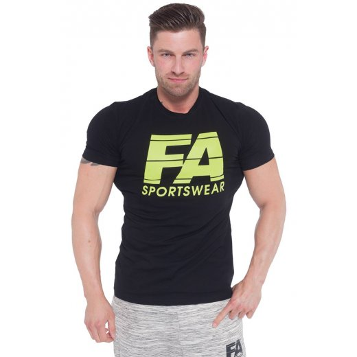 FA Sportswear T-shirt 01 Light Black Basic