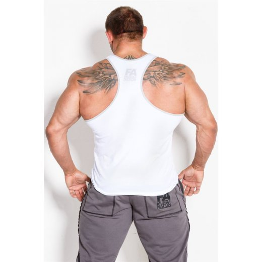 FA Muscle Nation Tanktop 01 Basic White