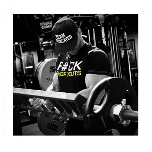 Dedicated Nutrition T-Shirt F#ck Shortcuts