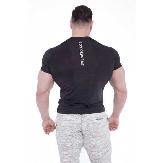 FA Sportswear T-Shirt 02 Compression Dark Black