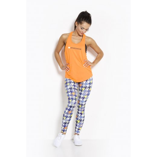 FA Sportswear Tanktop 02 W Loose Orange