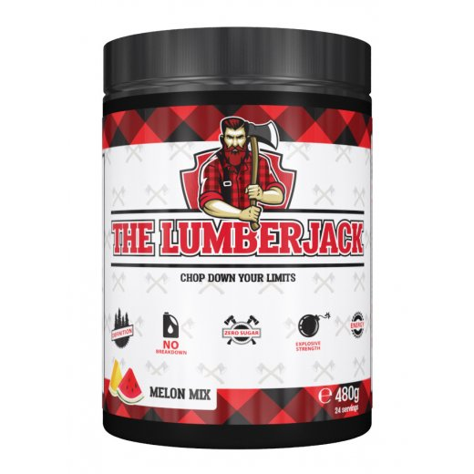 The Lumberjack Pre-Workout 480g - Melon Mix
