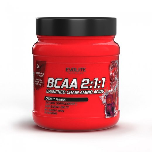 Evolite Nutrition BCAA 2:1:1 400g