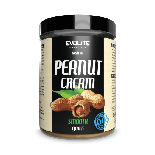 Evolite Nutrition Peanut Butter Smooth 900g