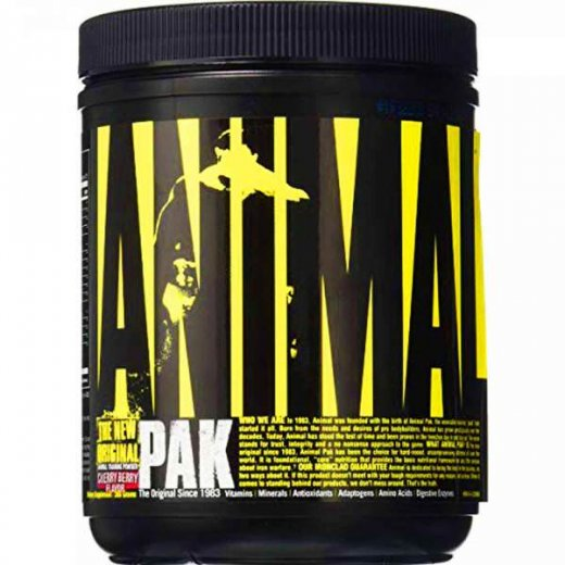 Universal Nutrition Animal Pak Powder 312g - Cherry