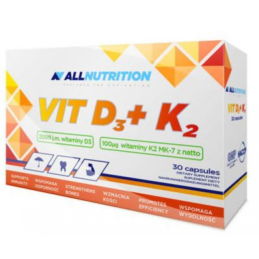 ALLNUTRITION D3+K2 - 30caps