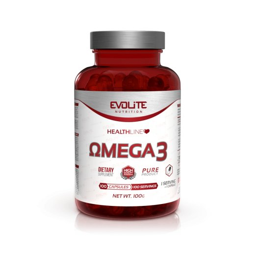 Evolite Nutrition Omega 3 - 100caps