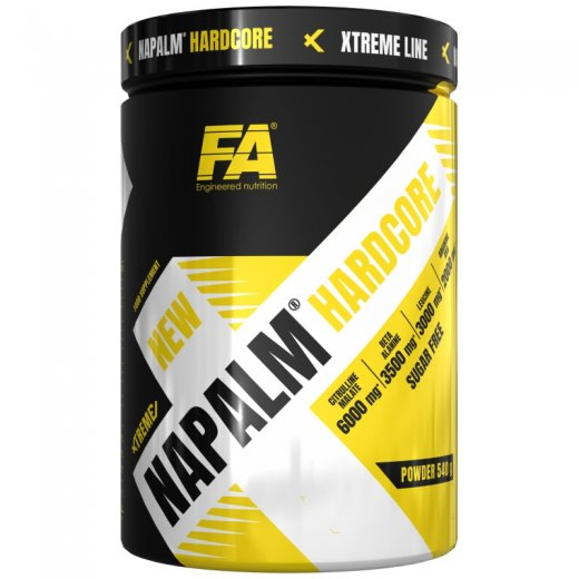 FA Nutrition Xtreme Napalm Hardcore 540g - Fruit Punch