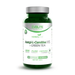 Evolite Nutrition Acetyl-L-Carnitine HCL + Green Tea 100cap