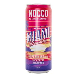 NOCCO BCAA Miami Strawberry 330ml