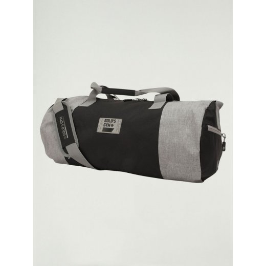 Golds Gym Contrast Barrel Bag