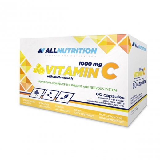 ALLNUTRITION Vitamin C 1000mg 60caps