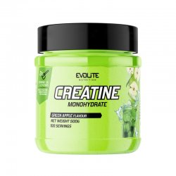 Evolite Nutrition Creatine Monohydrate 500g Green Apple