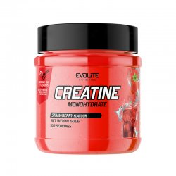 Evolite Nutrition Creatine Monohydrate 500g Strawberry