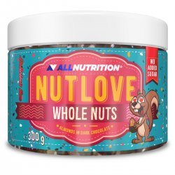 Allnutrition Nutlove Whole Nuts 300g ALMONDS IN DARK...