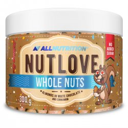 Allnutrition Nutlove Whole Nuts 300g ALMONDS IN WHITE...