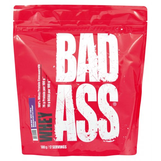 BAD ASS Whey 500g - Blackcurrant Ice Cream