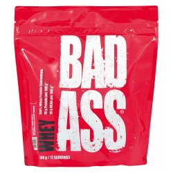 BAD ASS Whey 500g - Strawberry Ice Cream
